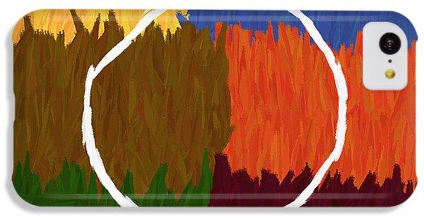 Strokes Of Colour IPhone 5c Case by Condor