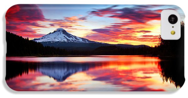 Sunrise On The Lake IPhone 5c Case by Darren  White
