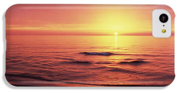 Sunset Over The Sea, Venice Beach IPhone 5c Case by Panoramic Images