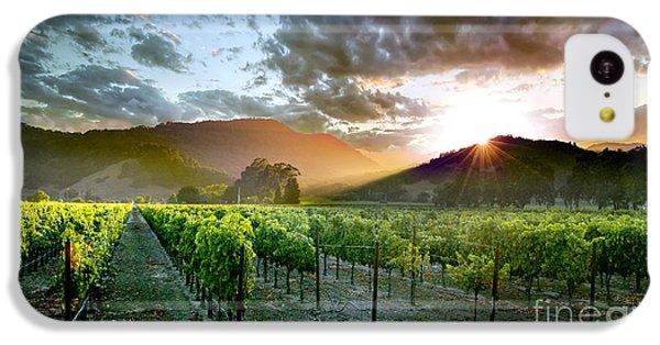 Wine Country IPhone 5c Case by Jon Neidert