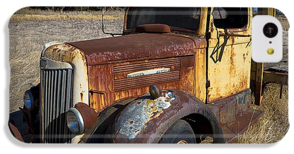 Super White Truck IPhone 5c Case by Garry Gay