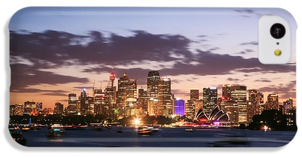Sydney Skyline At Dusk Australia IPhone 5c Case by Matteo Colombo
