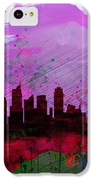 Sydney Watercolor Skyline 2 IPhone 5c Case by Naxart Studio