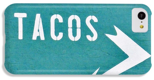 Tacos IPhone 5c Case by Art Block Collections