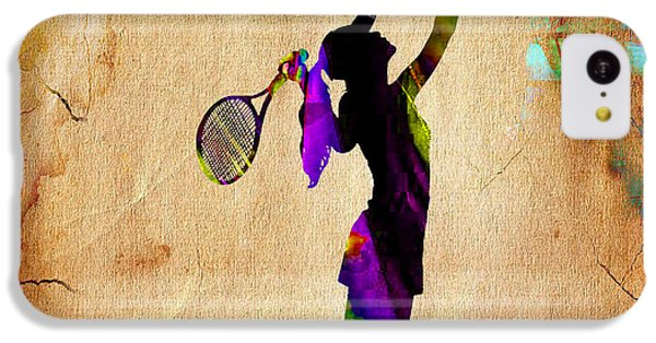 Tennis IPhone 5c Case by Marvin Blaine
