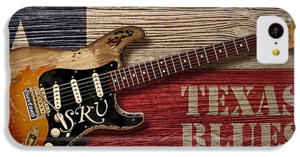 Texas Blues IPhone 5c Case by WB Johnston