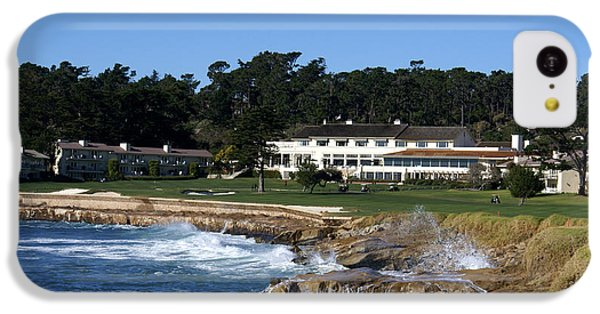 The 18th At Pebble Beach IPhone 5c Case by Barbara Snyder