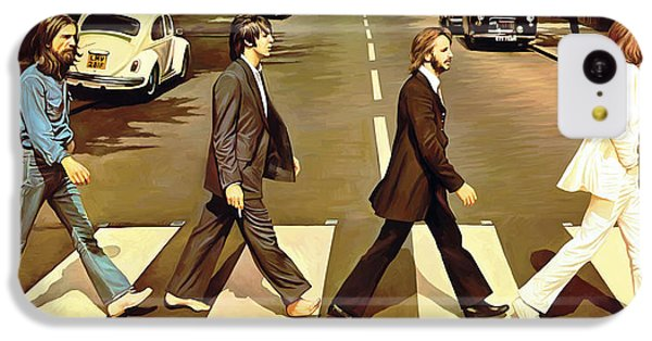 The Beatles Abbey Road Artwork IPhone 5c Case by Sheraz A