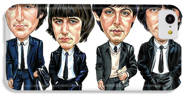 The Beatles IPhone 5c Case by Art