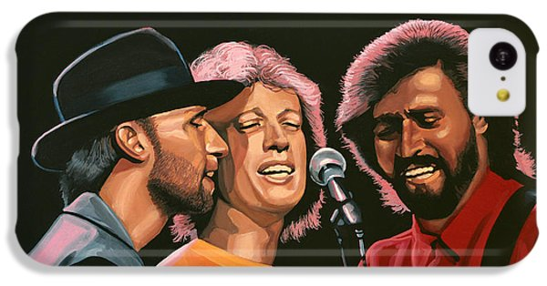 The Bee Gees IPhone 5c Case by Paul Meijering