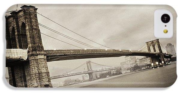 The Brooklyn Bridge IPhone 5c Case by Eli Katz