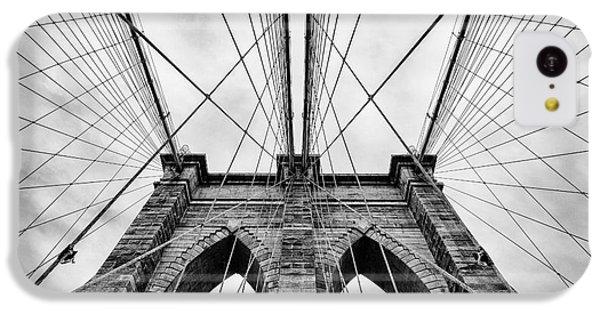 The Brooklyn Bridge IPhone 5c Case by John Farnan