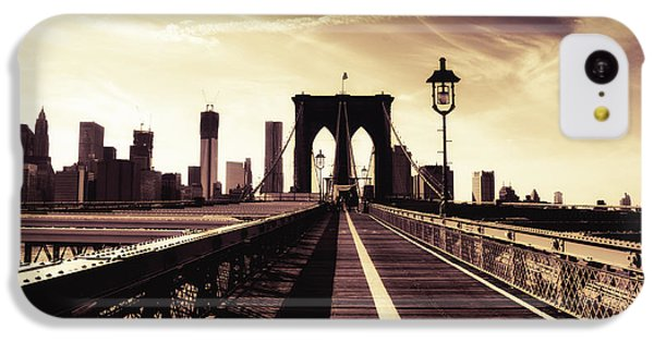 The Brooklyn Bridge - New York City IPhone 5c Case by Vivienne Gucwa