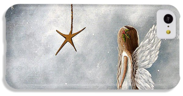 The Christmas Star Original Artwork IPhone 5c Case by Shawna Erback
