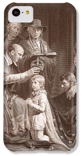 The Coronation Of Henry Vi, Engraved IPhone 5c Case by John Opie