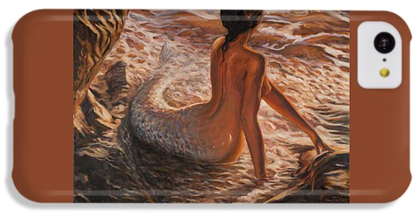 The Daughter Of The Sea IPhone 5c Case by Marco Busoni
