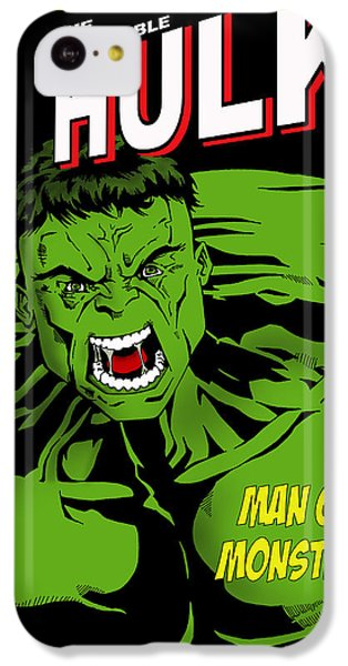 The Incredible Hulk IPhone 5c Case by Mark Rogan