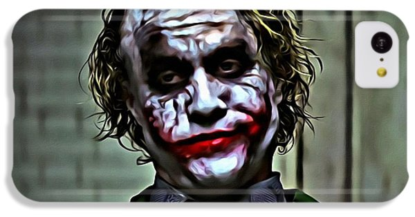 The Joker IPhone 5c Case by Florian Rodarte