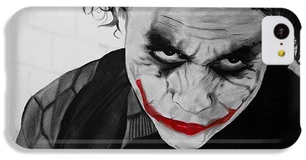 The Joker IPhone 5c Case by Robert Bateman