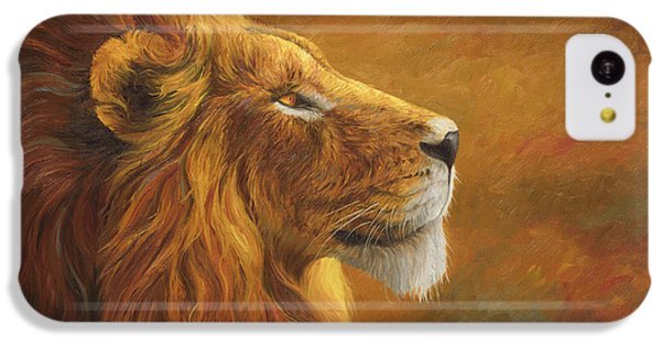 The King IPhone 5c Case by Lucie Bilodeau