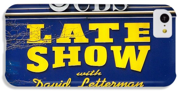 The Late Show With David Letterman IPhone 5c Case by Kenneth Summers