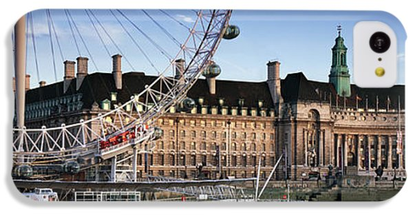 The London Eye And County Hall IPhone 5c Case by Rod McLean