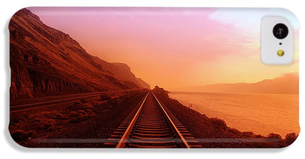 The Long Walk To No Where  IPhone 5c Case by Jeff Swan