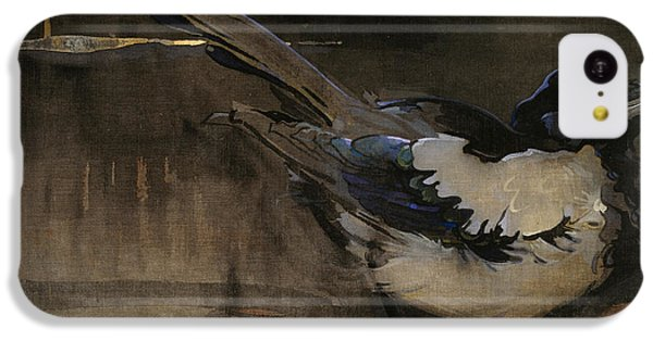 The Magpie IPhone 5c Case by Joseph Crawhall