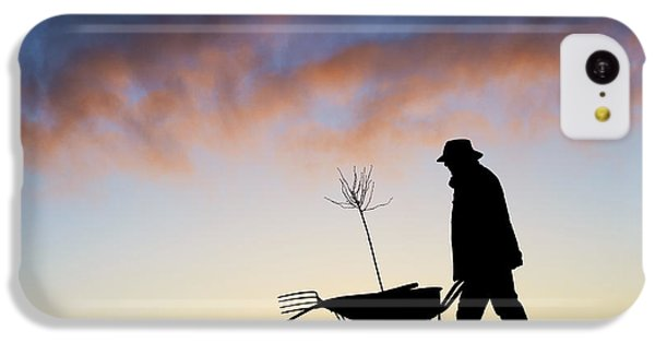 The Man Who Plants Trees IPhone 5c Case by Tim Gainey