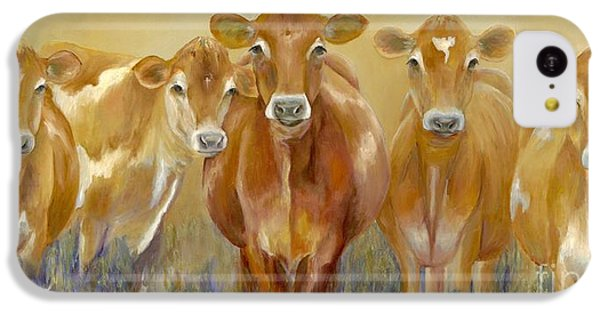 The Morning Moo IPhone 5c Case by Catherine Davis