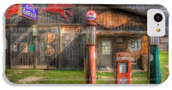 The Old Service Station IPhone 5c Case by David and Carol Kelly
