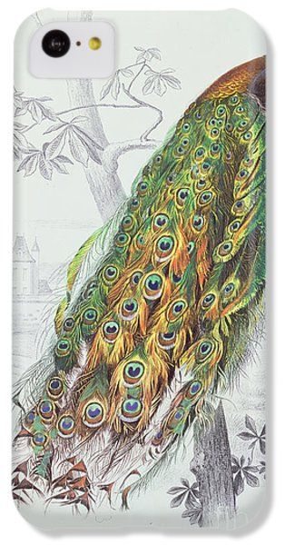The Peacock IPhone 5c Case by A Fournier