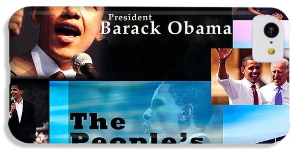 The People's President Still IPhone 5c Case by Terry Wallace