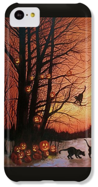 The Pumpkin Tree IPhone 5c Case by Tom Shropshire