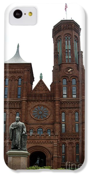 The Smithsonian - Washington Dc IPhone 5c Case by Christiane Schulze Art And Photography