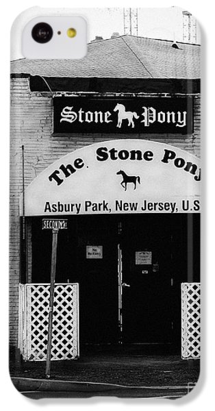 The Stone Pony IPhone 5c Case by Colleen Kammerer