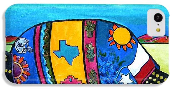 The Texas Armadillo IPhone 5c Case by Patti Schermerhorn