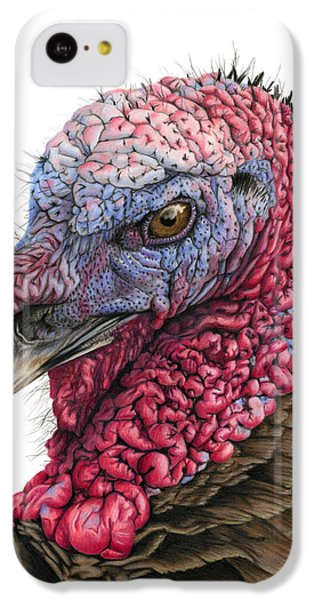 The Turkey IPhone 5c Case by Sarah Batalka