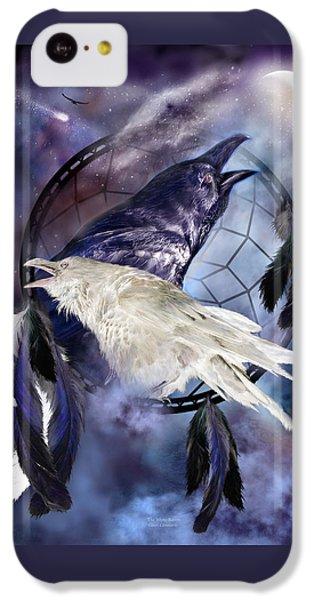 The White Raven IPhone 5c Case by Carol Cavalaris