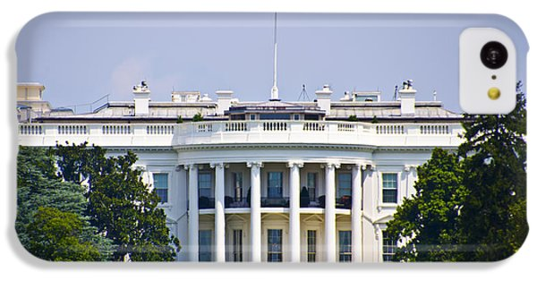 The Whitehouse - Washington Dc IPhone 5c Case by Bill Cannon
