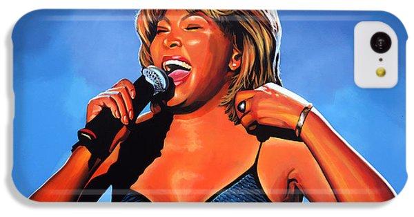 Tina Turner Queen Of Rock IPhone 5c Case by Paul Meijering