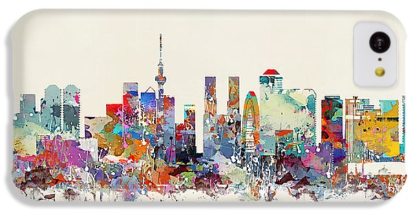 Tokyo Skyine IPhone 5c Case by Bri B