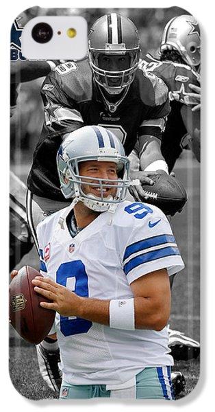 Tony Romo Cowboys IPhone 5c Case by Joe Hamilton