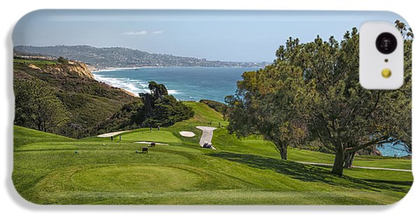 Torrey Pines Golf Course North 6th Hole IPhone 5c Case by Adam Romanowicz