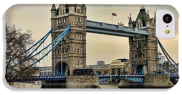 Tower Bridge On The River Thames IPhone 5c Case by Heather Applegate