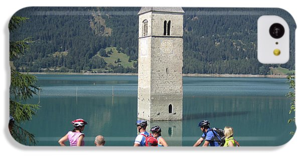 IPhone 5c Case featuring the photograph Tower In The Lake by Travel Pics