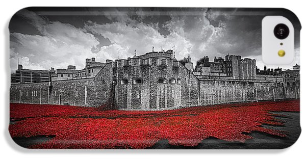 Tower Of London Remembers IPhone 5c Case by Ian Hufton
