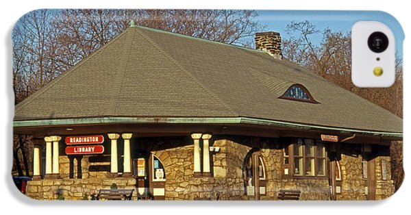 Train Stations And Libraries IPhone 5c Case by Skip Willits