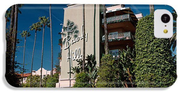 Trees In Front Of A Hotel, Beverly IPhone 5c Case by Panoramic Images