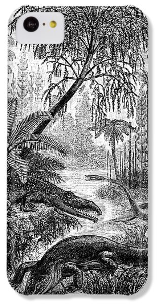 Triassic World IPhone 5c Case by Collection Abecasis
